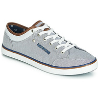 Shoes Men Low top trainers Redskins GALETI Grey / White