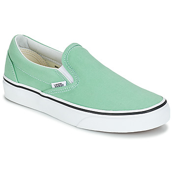 Shoes Women Slip ons Vans CLASSIC SLIP-ON Green