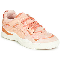 Shoes Women Low top trainers Vans VARIX WC Pink