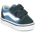 Shoes Boy Low top trainers Vans OLD SKOOL V Marine