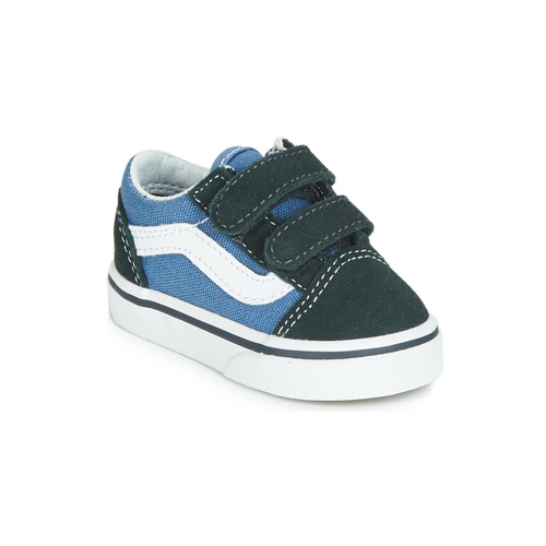Shoes Boy Low top trainers Vans OLD SKOOL V Marine