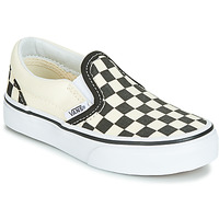 Shoes Children Slip ons Vans CLASSIC SLIP-ON Black / White