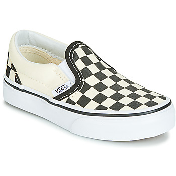 Shoes Children Slip ons Vans CLASSIC SLIP-ON Black / White