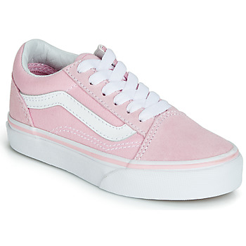 Shoes Girl Low top trainers Vans OLD SKOOL Pink