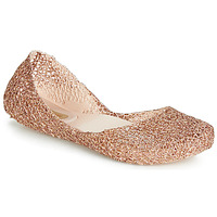Shoes Women Ballerinas Melissa CAMPANA PAPEL VII Black / Bronze