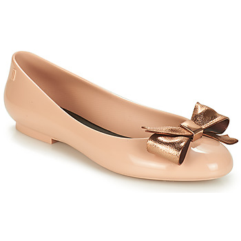 Shoes Women Ballerinas Melissa DOLL III Beige / Bronze