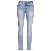material Women Boyfriend jeans Noisy May NMKIM Blue / Clear