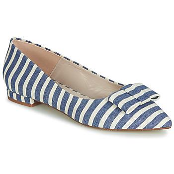 Shoes Women Ballerinas Fericelli JILONOU Blue / White