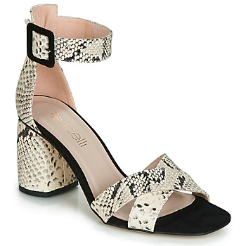 Shoes Women Sandals Fericelli JEZI White / Black