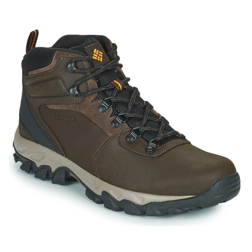 Shoes Men Hiking shoes Columbia NEWTON RIDGE PLUS II WATERPROOF Brown