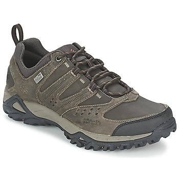Shoes Men Hiking shoes Columbia PEAKFREAK XCRSN LEATHER OUTDRY Earth