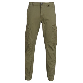 material Men Cargo trousers  Jack & Jones JJIPAUL Kaki