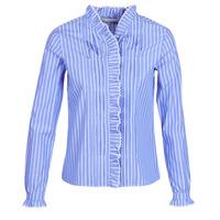 material Women Shirts Maison Scotch  Blue / Clear