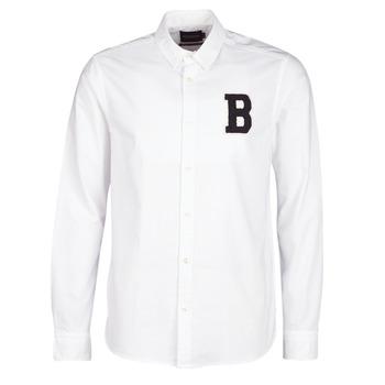 material Men long-sleeved shirts Scotch & Soda  White