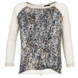 material Women jumpers One Step TWIST ECRU / Grey