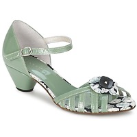 Shoes Women Sandals Mosquitos AMICALE Green / Water