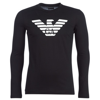 material Men Long sleeved shirts Emporio Armani YOULANE Black