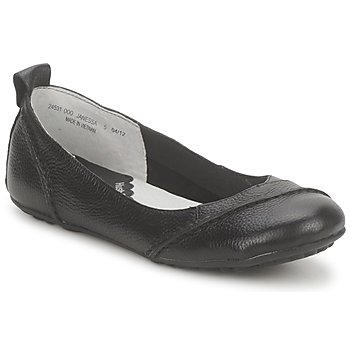 Shoes Women Ballerinas Hush puppies JANESSA Black