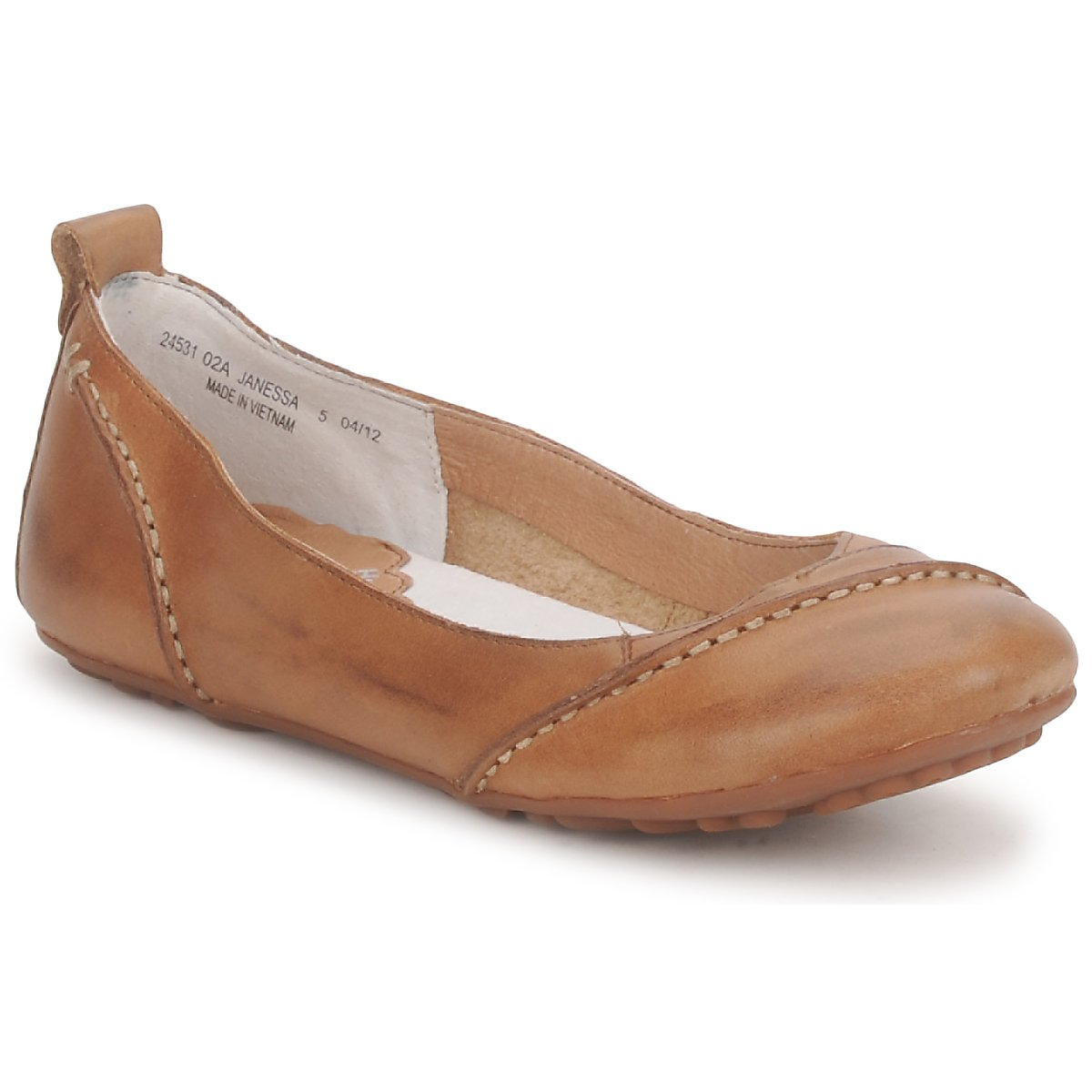 Ballerinas Hush puppies JANESSA Brown