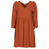 material Women Short Dresses Betty London JABALA Brown