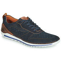 Shoes Men Low top trainers Bugatti TIPPO Blue