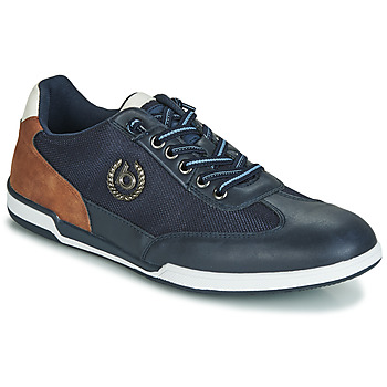 Shoes Men Low top trainers Bugatti TIPPA Blue