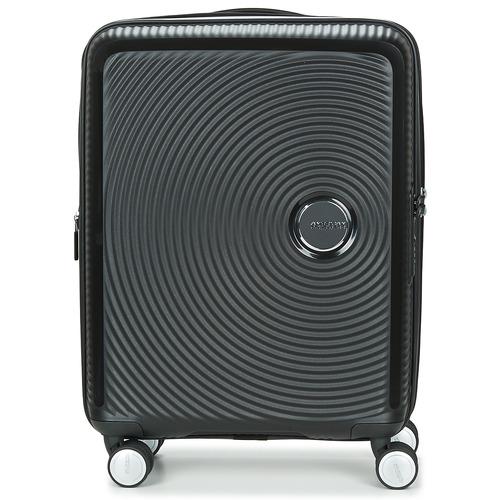 Bags Hard Suitcases American Tourister SOUNDBOX 55CM 4R Black