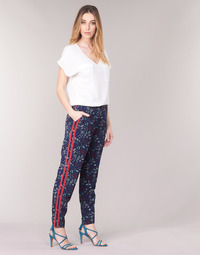 material Women Wide leg / Harem trousers Kaporal BABY Marine / Multicolour