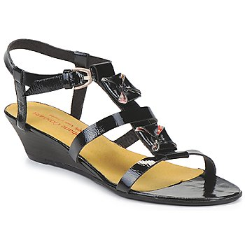 Shoes Women Sandals Stephane Gontard MALIBU Black