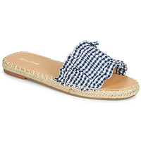Shoes Women Mules Moony Mood JOLIVOU Blue / White