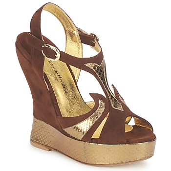 Sandals Terry de Havilland FARAH CHOCOLATE 350x350