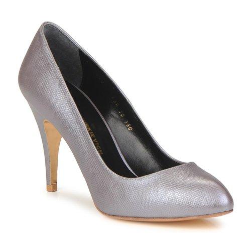 Shoes Women Court shoes Gaspard Yurkievich E10-VAR6 Violet / Pale / Metallic