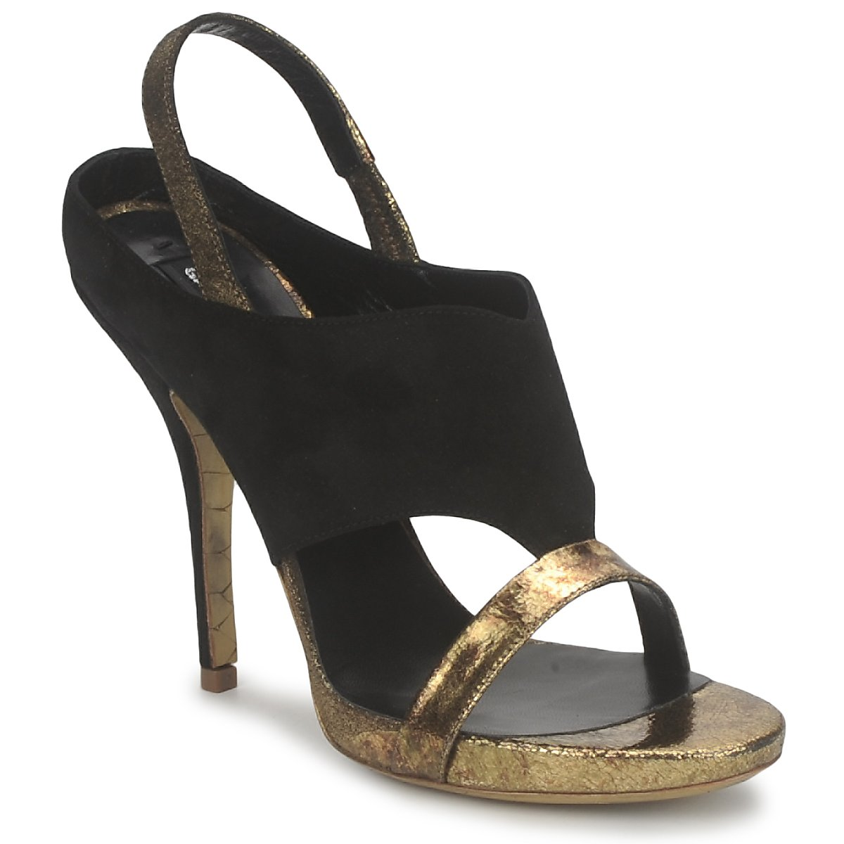 Sandals Gaspard Yurkievich T4 VAR7 Black / GOLD