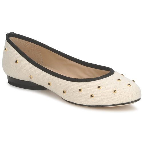 Shoes Women Ballerinas Kat Maconie DELILAH White / Broken / Black