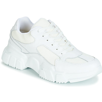 Shoes Women Low top trainers Yurban JILIBELLE White