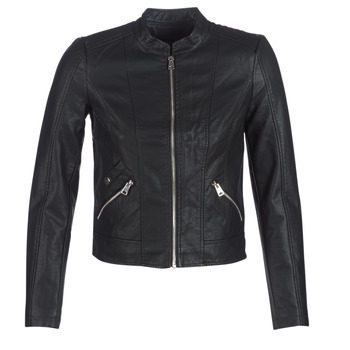 material Women Leather jackets / Imitation leather Vero Moda VMKHLOE Black