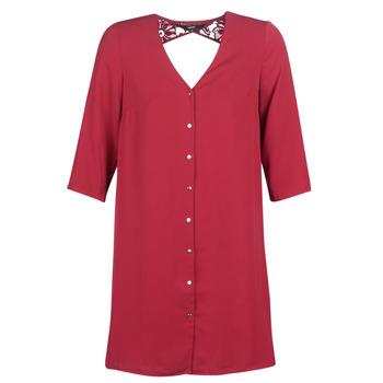 material Women Short Dresses Vero Moda VMRICKY Bordeaux