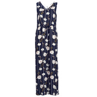material Women Long Dresses Vero Moda VMSIMPLY Marine