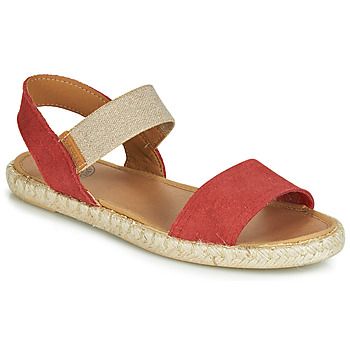 Shoes Women Sandals Pataugas EGEE Red / Gold