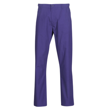 material Men 5-pocket trousers Benetton TIMOTI PANTS Blue / Violet