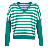 material Women jumpers Benetton MONIE Green / White