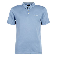 material Men short-sleeved polo shirts Columbia NELSON POINT POLO Blue