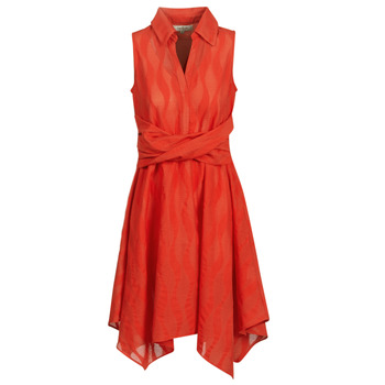 material Women Short Dresses Derhy EMBARCATION Red