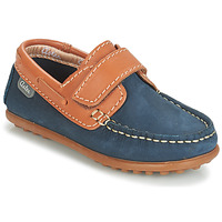 Shoes Boy Boat shoes Aster MICADO Marine / Cognac