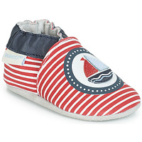 Shoes Boy Slippers Robeez MY CAPTAIN Red / Blue / White