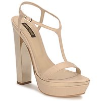 Shoes Women Sandals Roberto Cavalli RDS735 Beige / Nude