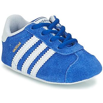 Shoes Children Low top trainers adidas Originals GAZELLE CRIB Blue