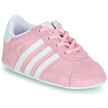 Shoes Children Low top trainers adidas Originals GAZELLE CRIB Pink