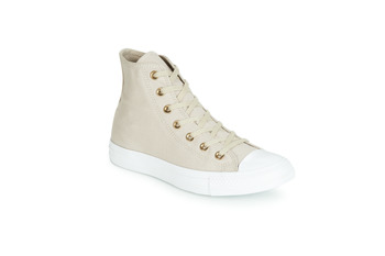 Shoes Women High top trainers Converse CHUCK TAYLOR ALL STAR HEARTS CANVAS HI Grey