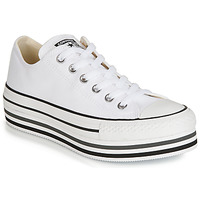 Shoes Women Low top trainers Converse CHUCK TAYLOR ALL STAR PLATFORM EVA LAYER CANVAS OX White
